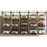 Het automatische Systeem van het Parkeren van de Auto van het Parkeren Openlucht