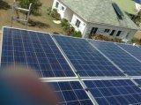 4000W sur outre de la station de système d'alimentation de panneau solaire de C.C à C.A. de réseau
