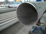 Edelstahl-nahtloses gekerbtes Rohr mit Cer in der Fabrik