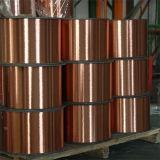 Fio de aço folheado de cobre de alta elasticidade da força CCS como o Lead-Wire para a eletrônica