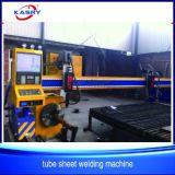 Машина кислородной резки плазмы CNC трубы нержавеющей стали машины вырезывания листа/завода скашивая