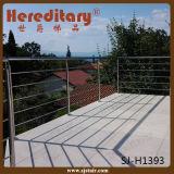 Baluster do aço inoxidável de /Wholesale do projeto dos trilhos do balcão do fio do cabo (SJ-H1393)