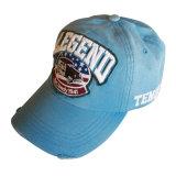 Gorra de béisbol lavada normal de la manera con la insignia plana Gjwd1765