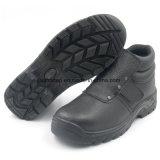 Zapatos de seguridad del soldador de los hombres del corte de Hight con la punta de acero