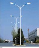 Alumbrado público galvanizado iluminación poste del camino