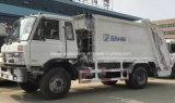 LHD u. Rhd 12-15 Tonnen komprimierte Abfall-LKW-für Verkauf