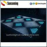 熱いRGB 3in1 Tempered Glass Dance Floor LED