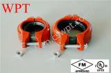 Chaud ! Garnitures Grooved de Weifang de pipe de fer de fonte