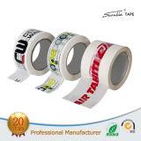 Cinta adhesiva transparente de acrílico del embalaje de la impresión BOPP