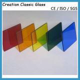 Vidro de vidro processado de vidro reflexivo verde do edifício do vidro modelado com ISO do Ce