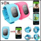 Дешевый мобильный телефон вахты сигнала тревоги GPS Sos дистанционного управления GSM карточки поддержки SIM вахты малыша Q50