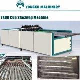 Yxdb Plastikcup-stapelnde Maschine/Cup-Ablagefach/automatisches Cup, das Zeile/stapelnde Maschinen-Gruppe mit Plastikcup Maschine/Thermoforming stapelt u. in einer Zeile stapelt