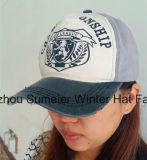 Preiswerte kundenspezifische Hüte mehr Farben-wahlweise freigestellte Sport-Baseballmütze