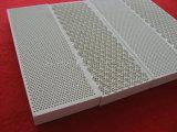 Placa cerâmica do favo de mel infravermelho do calefator para a caldeira, a grade e o queimador de gás