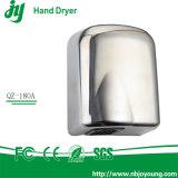 Secador da mão para o líquido de limpeza de banheiro