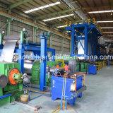 Linha de revestimento de aço da cor da bobina, máquina Prepainted da produção de aço