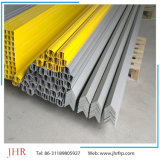 6mm 10mm festes Fiberglas Pole Rod, FRP GRP rechteckiges Gefäß