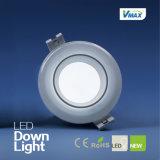 15W 1050lulen Aluminium-CER RoHS LED helles Downlight