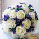 La decoración de la boda o del día de fiesta con Flowers01 artificial