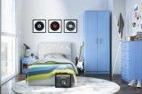아이 침실 가구 현대 파란 침실 세트 나무로 되는 옷장