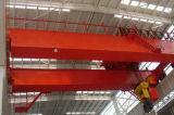電気起重機が付いている頑丈な二重ガードの天井クレーン
