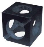 Composants de Mecahnical de cube en granit de précision
