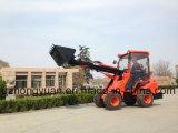 Телескопичное животное Capbility 800kg нагрузки затяжелителя колеса подавая для животной фермы