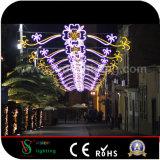 Straßen-Dekoration-Lichter des Weihnachtsim freien Gebrauch-LED