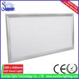 3 años de garantía 72W 9 mm cuadrados llevó la luz del panel del accesorio