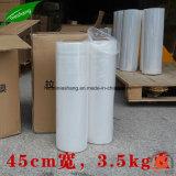 Película de estiramiento del PE de LLDPE 23 Mic para el embalaje de la paleta