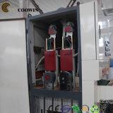 Linha de produção da extrusora do perfil de WPC/extrusora de parafuso de madeira do dobro da espuma do PVC do plástico