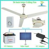 Ventilatore di soffitto autoalimentato solare ad alta velocità e forte di CC 12V di Cfm