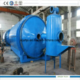 Neumático que recicla la planta de la pirolisis con el dispositivo especial de Slage del carbón