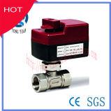 2wegEdelstahl-Kugelventil-elektrisches Motor-betätigtes Ventil (BS-858-25)