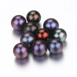 La nueva manera de Snh cultivó la mitad de la perla del redondo flojo perforada