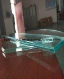 8mm té Mesa de vidrio templado para la oficina o el hogar