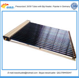 Colector solar del tubo de cobre de la alta calidad exportado