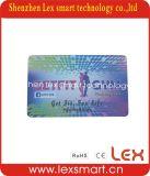 Plastik-Belüftung-Drucken-Gymnastik-Mitgliedskarte, Goldmember Karte