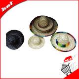 Chapéu de palha, chapéu do Sombrero, chapéu grande da borda