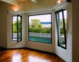 El color negro estándar australiano de aluminio Inclinar-Da vuelta a la ventana