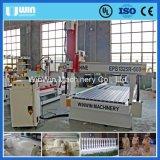 Kombinierte grosse Drehmittellinie der Holzbearbeitung-ENV, die Mittel-CNC-Fräser aufbereitet