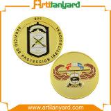 Подгонянная монетка сувенира возможности золота металла