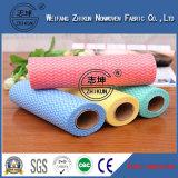 Tissu non-tissé remplaçable de Spunlace pour le tissu de chiffon
