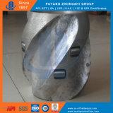 API 10d Solid Rig Caring Centralizer avec rouleau
