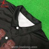 Healongのカスタム熱い昇華方法ポロシャツ