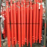 Curso curto cilindro hidráulico cromado de Rod para a agricultura