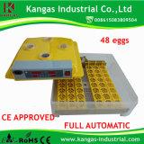 Ce verklaarde de Automatische Incubator van Kwartels voor 48 Eieren