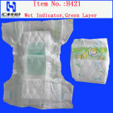 Gedrucktes PET Bottom Film mit Green Layer Baby Diaper (H421)