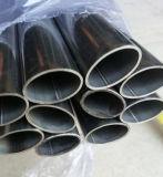 Tubo oval del acero inoxidable 316 de ASTM A554 304 para la barandilla
