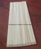 Sans baguettes en bambou personnalisées remplaçables de noeud